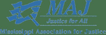 Mississippi Association for Justice (MAJ) logo